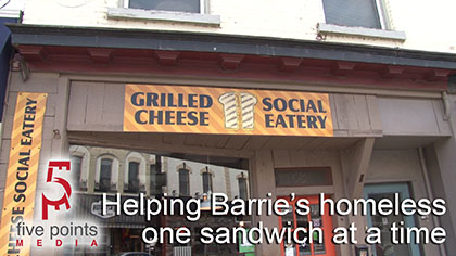 Helping the Homeless, one sandwich at a time - The Grilled Cheese Social Eatery