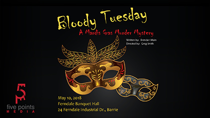Bloody Tuesday, A Mardis Gras Murder Mystery, In support of 'We Are The Villagers'