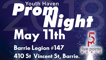 Youth Haven Barrie - Prom Night Promo, 2018