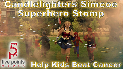Candlelighters Superhero Stomp Promo