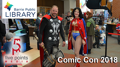 Barrie Public Library - BPL Comic Con 2018