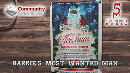 Community Give and Get Christmas Event Promo 1