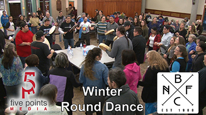 Barrie Native Friendship Centre Round Dance To Thank Volunteers, 2019