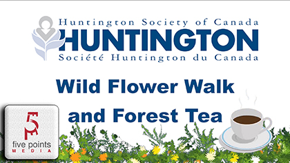 Wild Flower Walk and Forest Tea for Huntingtons Disease, 2019