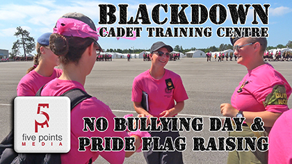 Blackdown Cadets Anti Bullying Day - 2019
