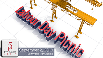 Barrie Labour Day Picnic 2019
