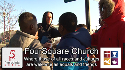 FourSquare Church, Barrie, where all are equal - 2020