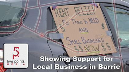 COVID-19 - Showing Support for Local Business in Barrie